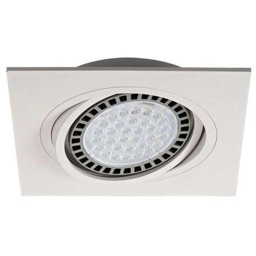 Zumaline Wpuszczana lampa sufitowa boxy dl 20071-wh kwadratowa oprawa podtynkowa do zabudowy biała (2011006018690)