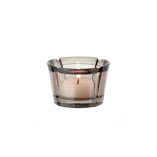 - szklany świecznik, przyciemniany marki Rosendahl