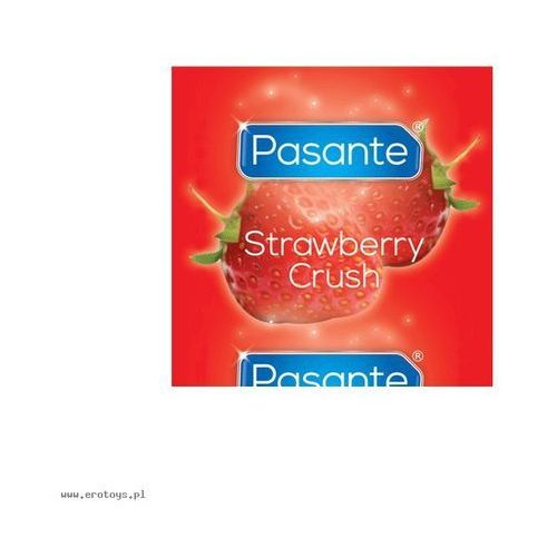 Pasante strawberry crush bulk (144 szt.) wyprodukowany przez Pasante (uk)