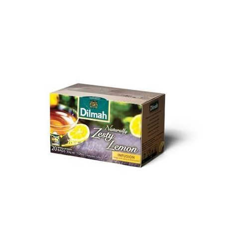 DILMAH. NATURALLY ZESTY LEMON koperta 20 szt.