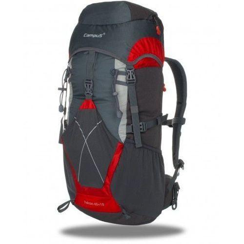 Plecak turystyczny 50L FALCON Campus - Szary ||Czerwony