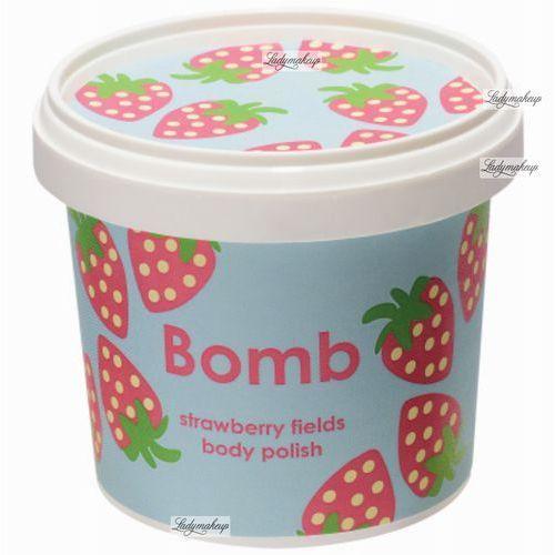 Bomb Cosmetics Strawberry Fields peeling pod prysznic (Shower Body Polish) 375 ml