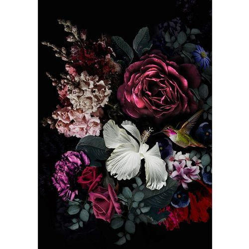 Dekoria Obraz na płótnie Flowers I, 70 x 100 cm