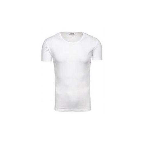 J.style T-shirt męski bez nadruku biały denley 2006
