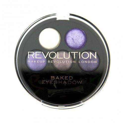 Makeup Revolution 5 Baked Eyeshadows Electric Dreams - Paleta 5-ciu wypiekanych cieni do powiek