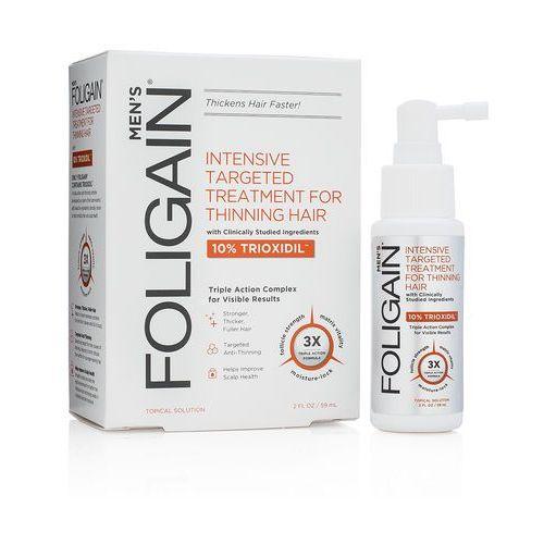płyn przeciw łysieniu dla mężczyzn 10% trioxidil marki Foligain