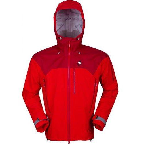 High point kurtka męska protector 4.0 jacket red/red dahlia xxl (8591788436133)