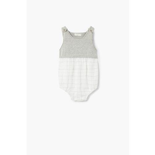 Mango kids - body niemowlęce cladine 62-80 cm