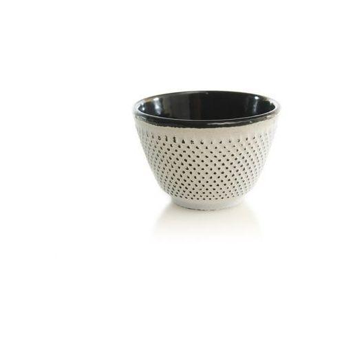 Czarka żeliwna do herbaty biała do dzbanka marki Kesi