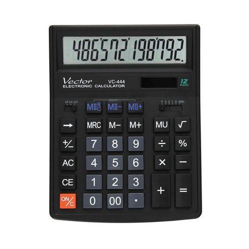 Kalkulator 12pozycyjny vc444 marki Vector. Najniższe ceny, najlepsze promocje w sklepach, opinie.
