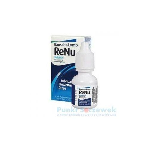 Renu multiplus lubricating drops, 8 ml marki Bausch+lomb