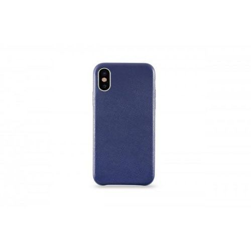 Kmp leather case do iphone x skórzane niebieskie >> bogata oferta - super promocje - darmowy transport od 99 zł sprawdź!