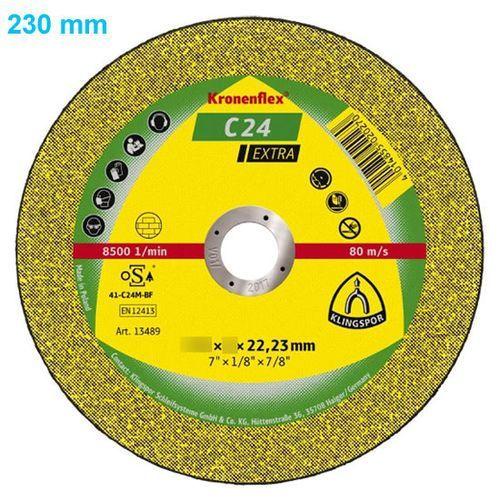 Tarcza do cięcia Kronenflex C 24 Extra 230 x 3,0 x 22 mm PŁASKA