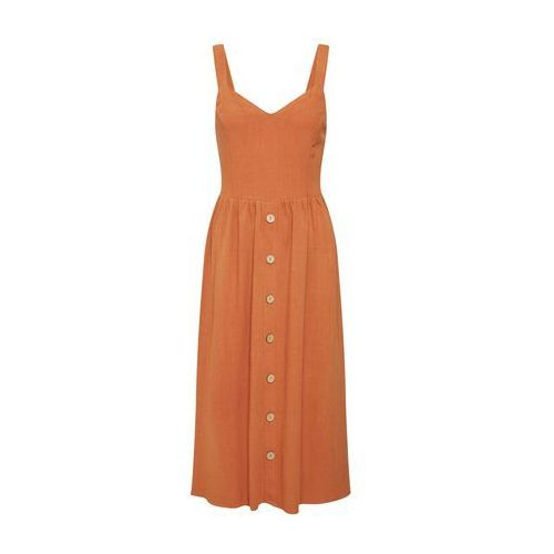 letnia sukienka rdzawoczerwony marki New look