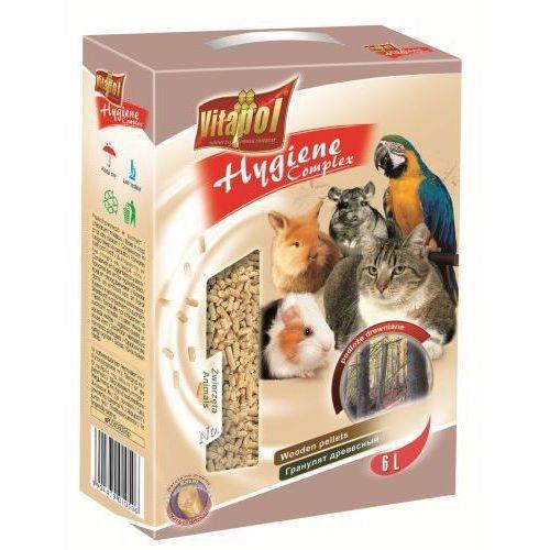 Vitapol podłoże drewniane dla zwierząt 6l - darmowa dostawa od 95 zł!