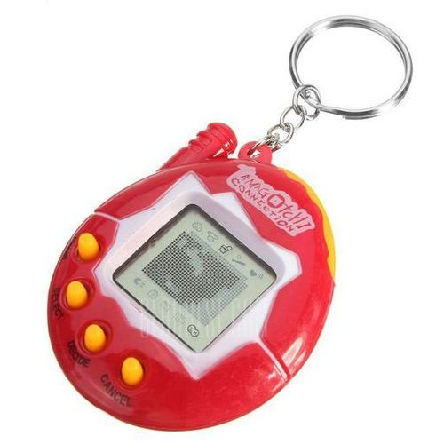 Gearbest Nostalgic toy tiny 49 pet in one virtual pet - 1pc