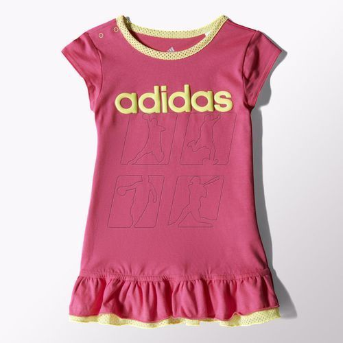 Komplet adidas Girls Dress Set Kids S21461 z kategorii Komplety odzieży dla dzieci