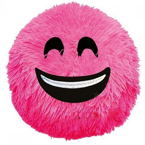 D.rect Piłka fuzzy ball s'cool smile różowa