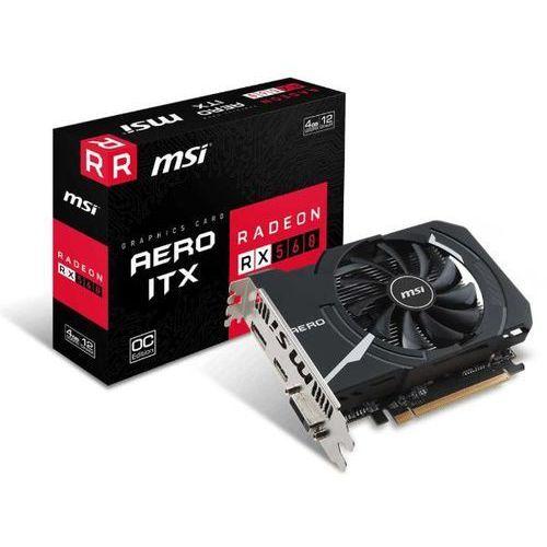MSI Radeon RX 560 AERO ITX OC 4GB GDDR5 128bit - produkt w magazynie - szybka wysyłka!, RADEON RX 560 AERO ITX 4G OC