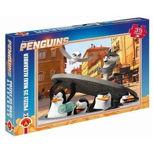 Puzzle 35 Maxi Pingwiny z Madagaskaru