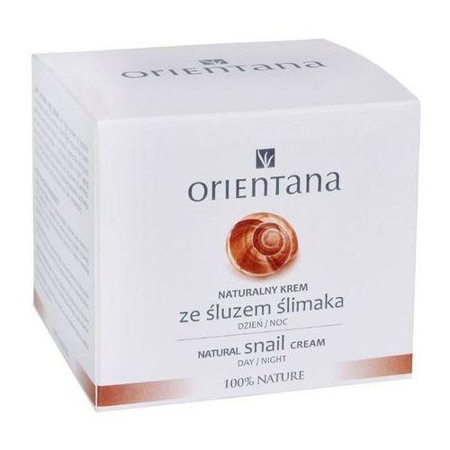 - naturalny krem ze śluzem ślimaka marki Orientana