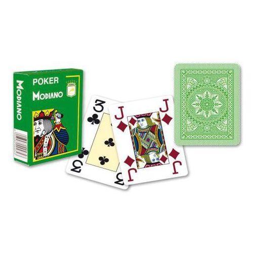 Modiano 4 rogi 100% karty plastikowe - jasno zielone (8003080004861)