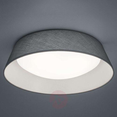 Plafon LAMPA sufitowa PONTS R62871811 Trio natynkowa OPRAWA okrągła LED 18W abażurowa szara, R62871811