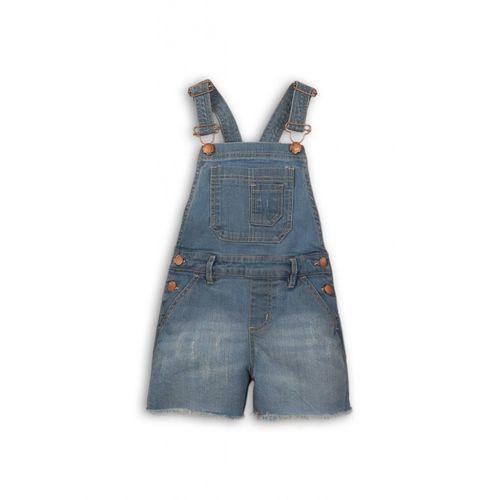 Ogrodniczki niemowlęce jeansowe 6n38a1 marki Minoti