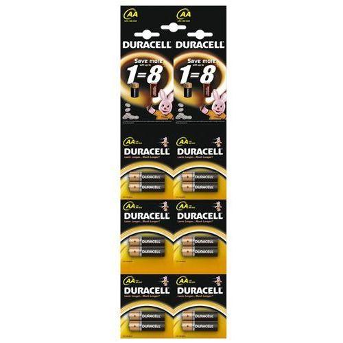 Duracell 12 x bateria alkaliczna  duralock basic c&b lr6 aa (blister)