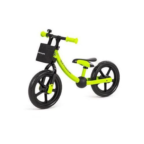 KinderKraft Rowerek biegowy 2Way next zielony (5902533903931)