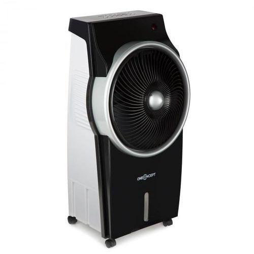 oneConcept Kingcool wentylator schładzacz powietrza jonizator czarno srebrny (4260486157445)