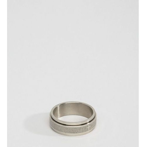 Seven Engraved Ring Exclusive To ASOS - Silver