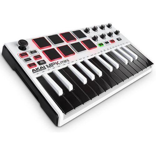 """mpk mini 2 white – mini klawiatura sterująca -5% na pierwsze zakupy z kodem """"start""""! marki Akai"""