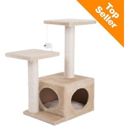 Oaza drapak dla kota - dł. x szer. x wys.: 44 x 33 x 71 cm marki Zooplus exclusive
