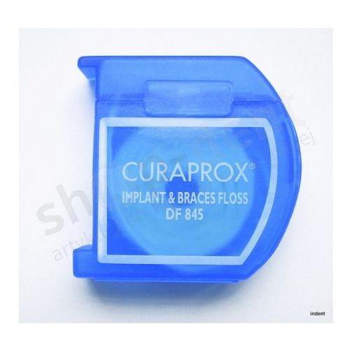 nitka zębowa do implantów i mostów df 845 marki Curaprox
