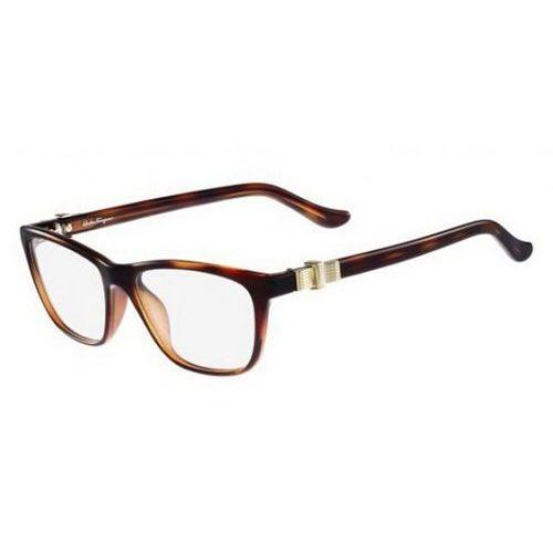 Okulary korekcyjne sf 2728 214 marki Salvatore ferragamo