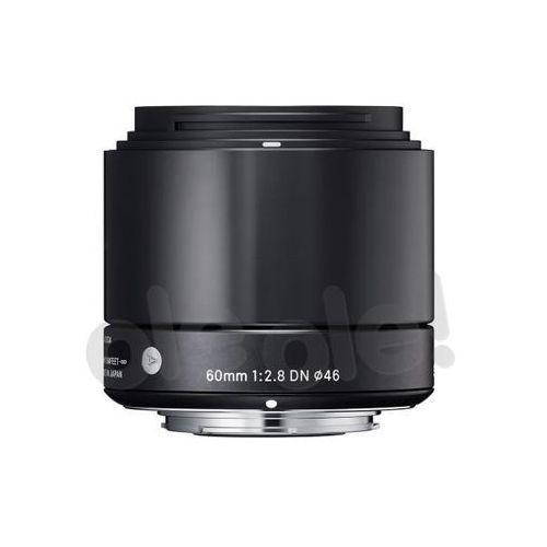 Sigma A 60mm f/2.8 DN czarny Olympus - produkt w magazynie - szybka wysyłka!