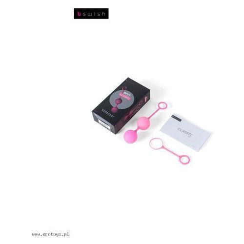 B swish Kulki waginalne -  bfit classic powder pink różowe