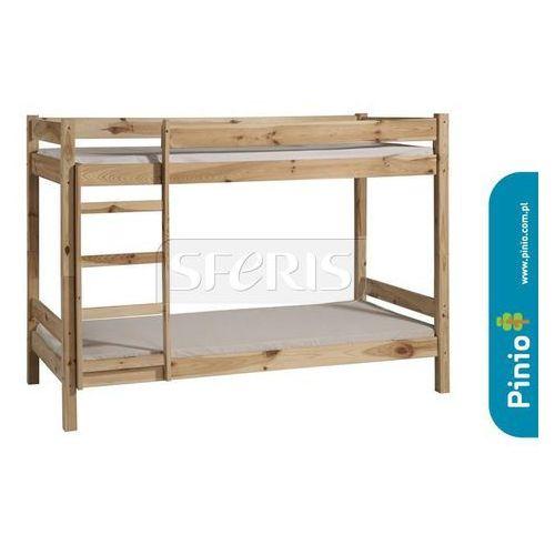 Łóżko piętrowe 200x90 pinio bed 2 surowe - 800-191-000 wyprodukowany przez Drewnostyl pinio
