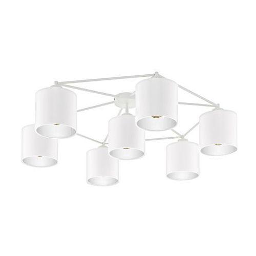 Eglo 97903 - Żyrandol natynkowy STAITI 7xE27/40W/230V biały (9002759979034)