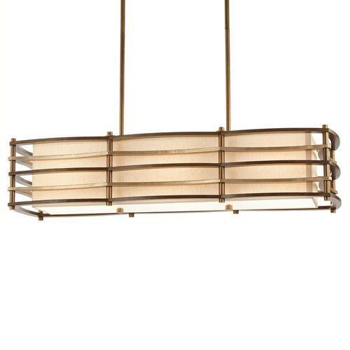 Elstead Lampa wisząca moxie podłużna, 91x30 cm (5024005236719)