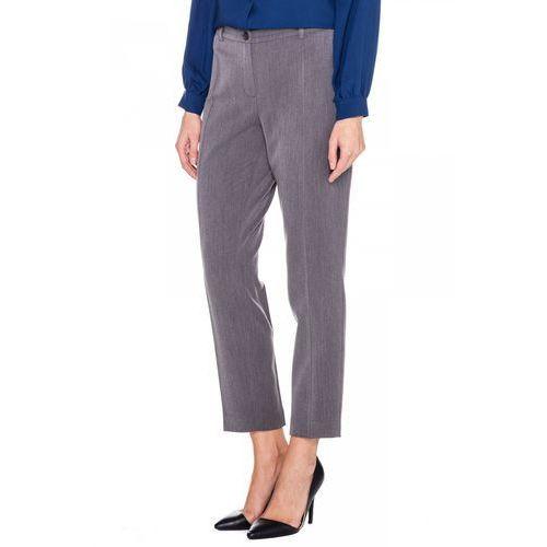Spodnie w długości 7/8 - Metafora, kolor szary