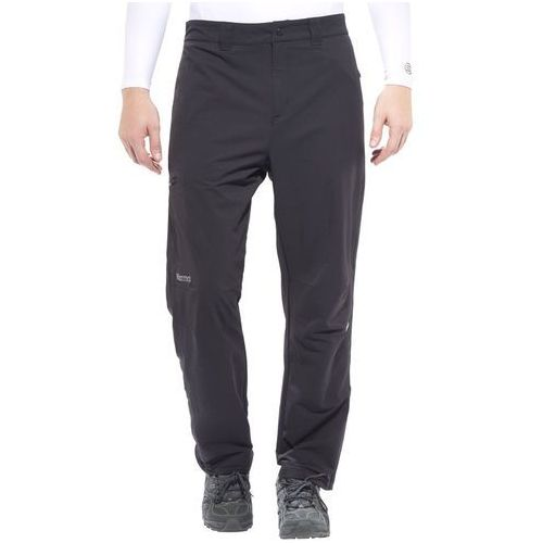 Marmot scree spodnie długie mężczyźni czarny 46-krótkie spodnie wspinaczkowe (0785562230767)