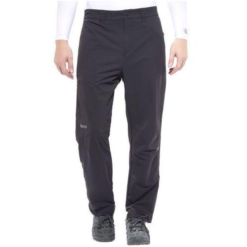 Marmot scree spodnie długie mężczyźni czarny 48-50-krótkie spodnie wspinaczkowe (0785562230774)