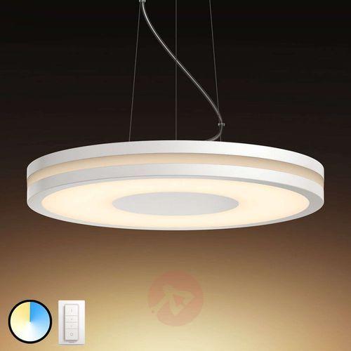 being lampa wisząca led, biała marki Philips hue