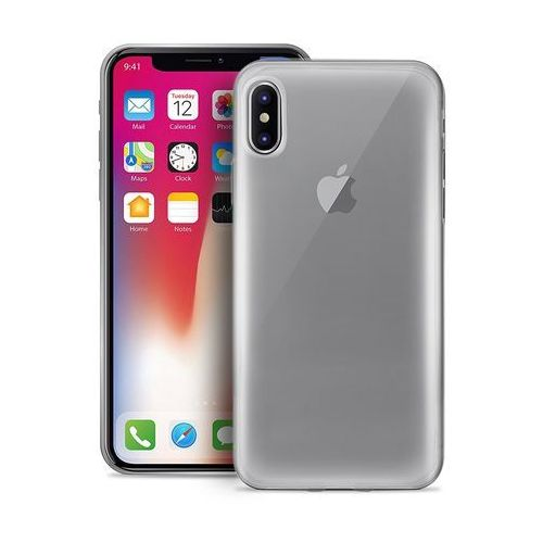 PURO Plasma Cover - Etui iPhone X (przezroczysty), kolor PURO