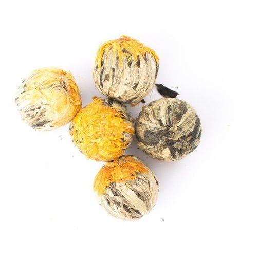 Zielona herbata kwitnąca Ronnefeldt Golden Fortune Balls 100g