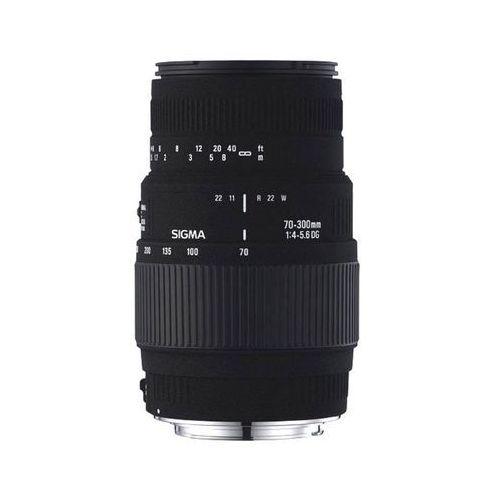 Sigma 70-300 f4-5.6 dg macro - nikon - przyjmujemy używany sprzęt w rozliczeniu | raty 20 x 0% (0411378010209)