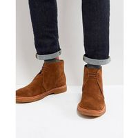 Polo Ralph Lauren Karlyle Chukka Boots Suede in Tan - Tan