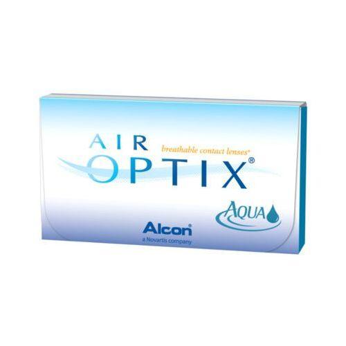 6szt -0,25 soczewki miesięczne marki Air optix aqua